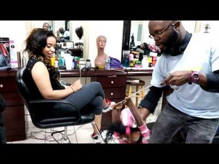 Cindy Hot Chocolate at Beauty/Hair Salon