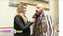 LUDOVICA PAGANI | FASHION KILLER 3 Street Interviews MFW Fall 2016 by Fashion Channel