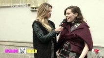 LUDOVICA PAGANI | FASHION KILLER 4 Street Interviews MFW Fall 2016 by Fashion Channel
