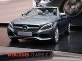 Mercedes Classe C Cabriolet en direct du salon de Genève 2016