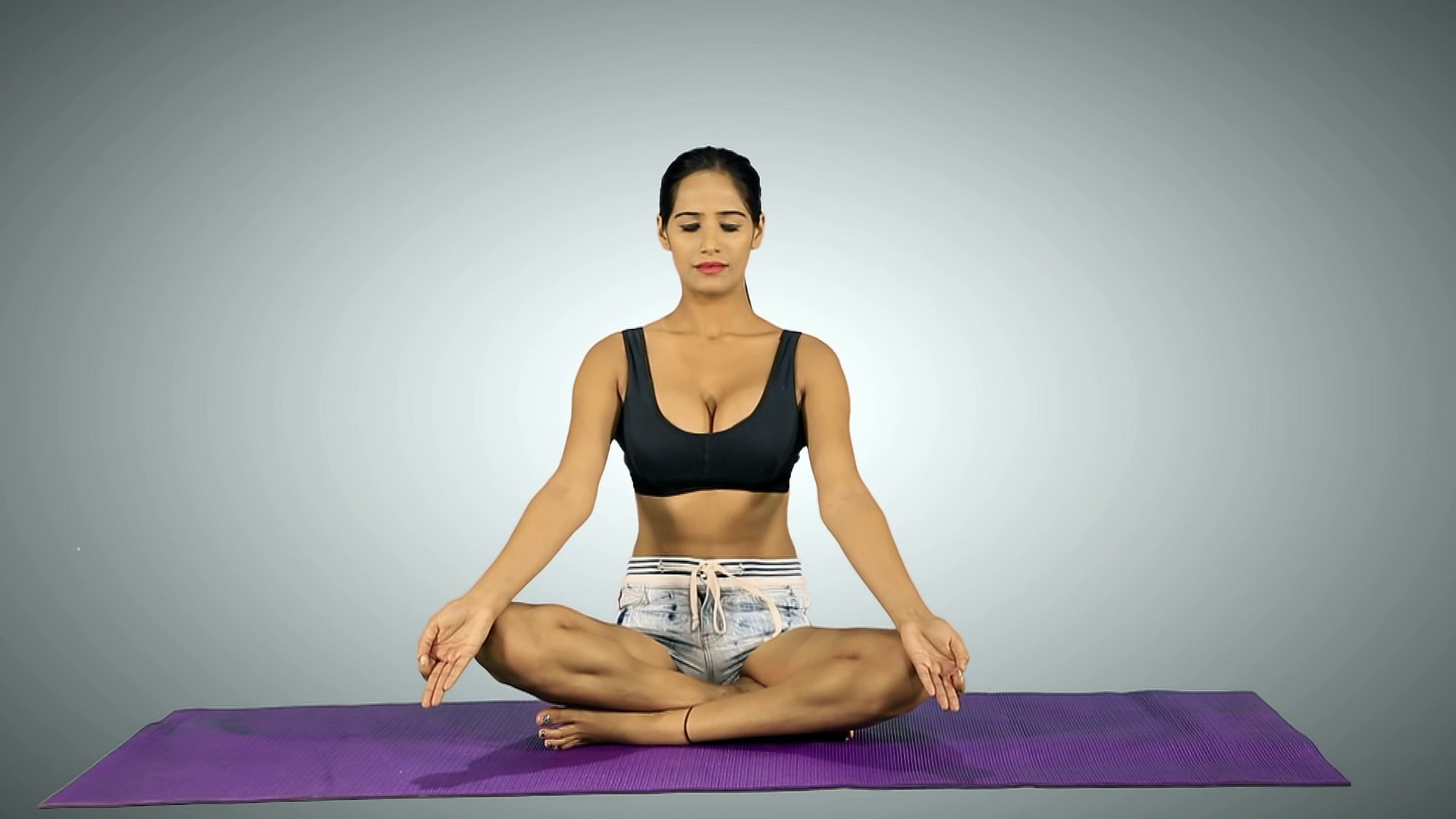 Poonam Pandey  Style Yoga - Be Hot & Fit Like Me