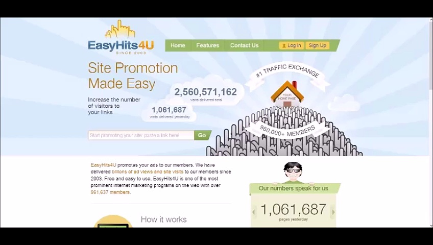 Easyhits4u the best traffic exchange