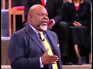 TD Jakes - Witness of change