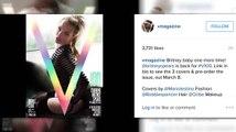 Britney Spears est de retour, sur des couvertures de magazine super sexy