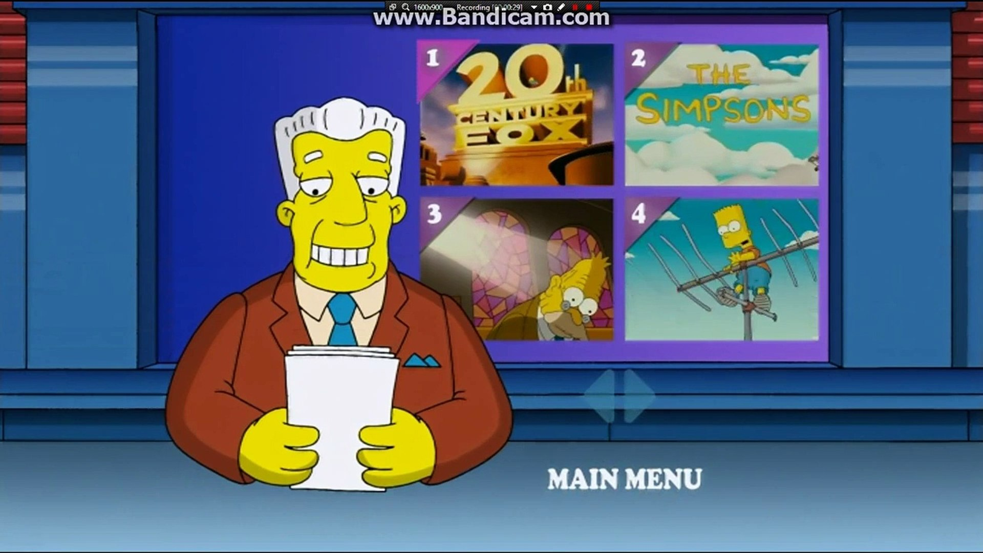 The Simpsons Movie Dvd Menu Video Dailymotion