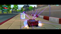 CARS 2 : Lightning Mcqueen Cars Battle Race Track Drifting Disney Pixar Rayo Macuin Carros 2 HD!