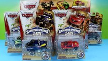 DIsney Pixar Cars The Radiator Springs 500 1/2 Race Cars & Off Road Rally Race Track Set Unboxing