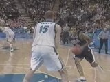 And1 nba vince carter dunks over a 7 2 player