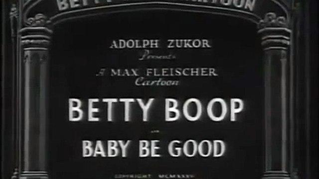 Betty Boop Deutsch Baby Be Good 1935