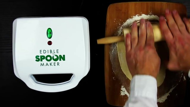 Edible Spoon Maker