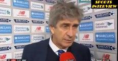 Liverpool 3-0 Manchester City - Manuel Pellegrini Post Match Interview