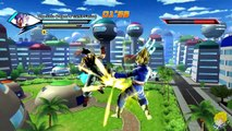 Dragon Ball Xenoverse (PC): Super Vegetunks ( Vegeta & Trunks Fusion) [MOD] 【60FPS 1080P】