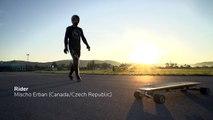 Record du monde de vitesse en longboard électrique