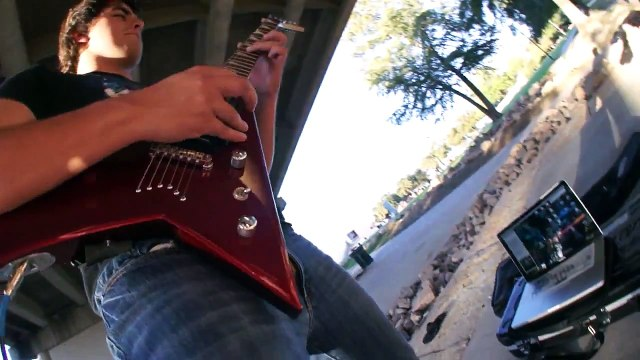 Whats New Scooby Doo? (by Simple Plan) GUITAR REMIX!!! By David Saborio