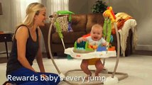 Fisher Price Rainforest Friends jumperoo for babies