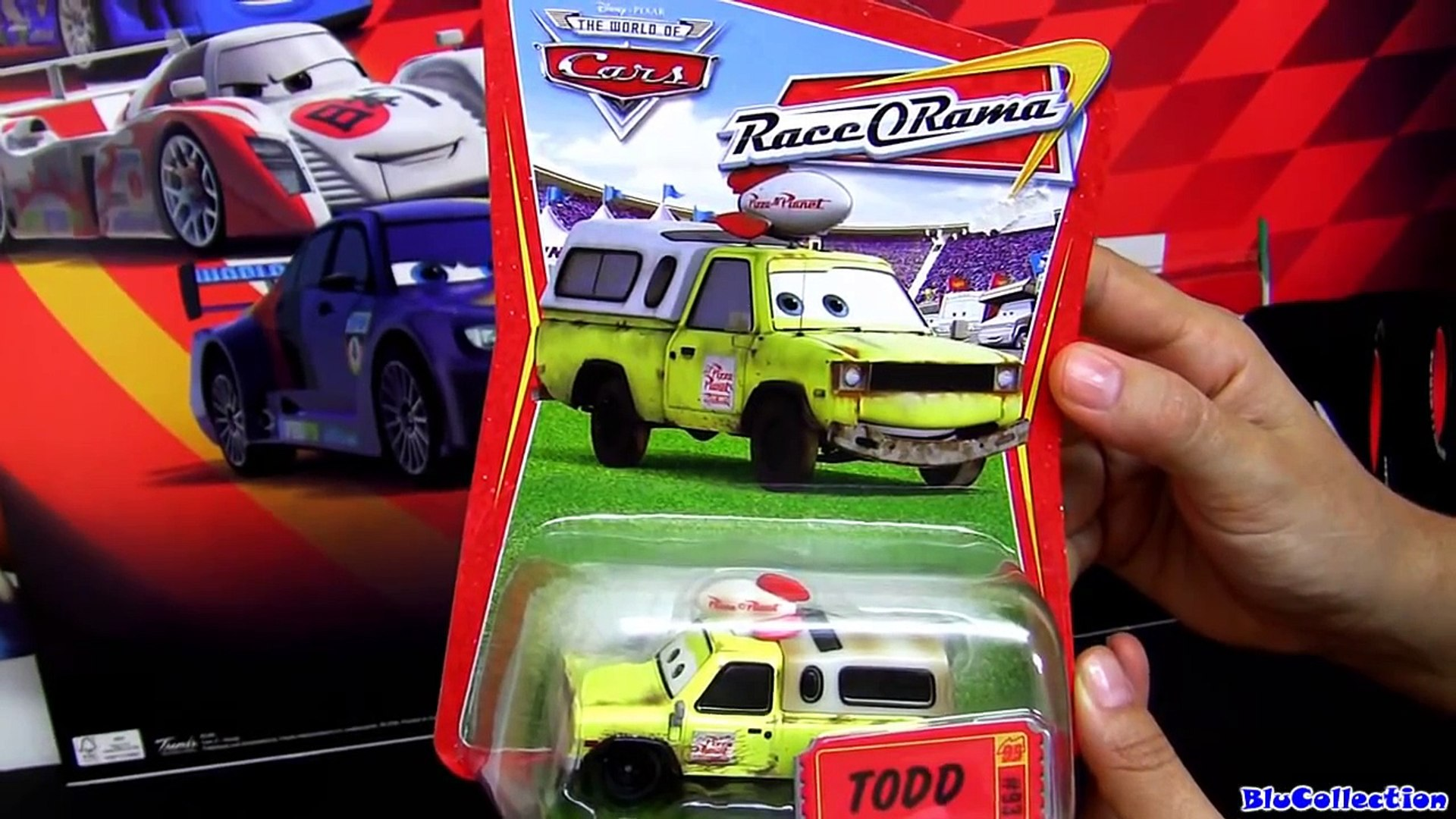 Cars 2 Pizza Planet Truck Todd Diecast Disney Pixar Toy Story Toy Review By Blucollection