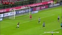 Милан - Алессандрия 5_0. Обзор матча. Италия. Кубок Италии 2015_16. 1_2 финала.