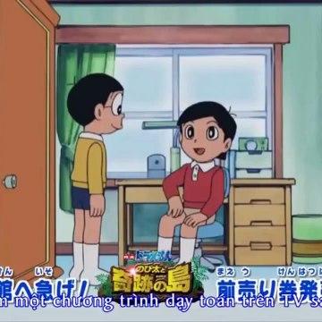 Doraemon Vietsub Truyền hình bắt đầu rồi | Làm đông cứng nó lại đi