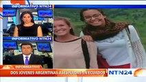 Por medio de huellas dactilares identificaron cuerpos hallados en Montañita, Ecuador
