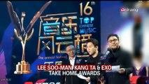 LEE SOO-MAN, KANG TA & EXO TAKE HOME AWARDS