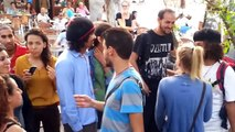 organisateurs du Kiss in a Rabat et Un homme attaque les organisateur 12-10-2013