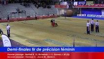 Demi-finales tir de précision féminin, 2eme passage, France Tirs, Sport Boules, Dardilly 2016