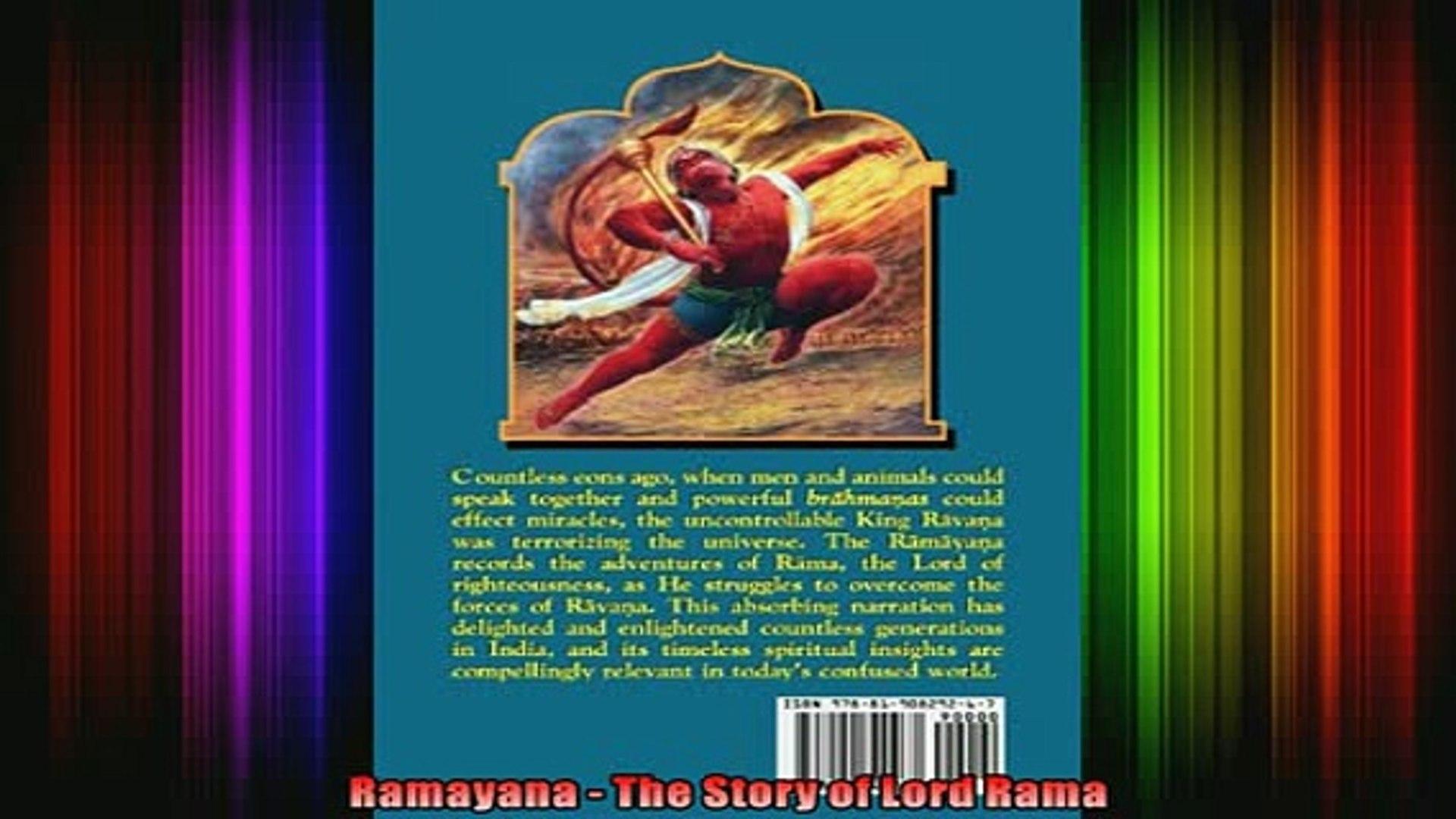 Read Ramayana The Story of Lord Rama Full EBook
