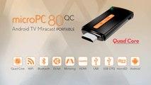 Android TV microPC 80QC de TenGO - caracteristicas y ventajas