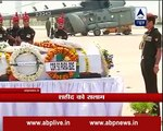 Army Chief Suhag pays tribute to Major Amit Deswal who martyred in Manipur operation
