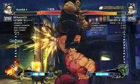 Ultra Street Fighter IV battle: Hugo vs Hugo