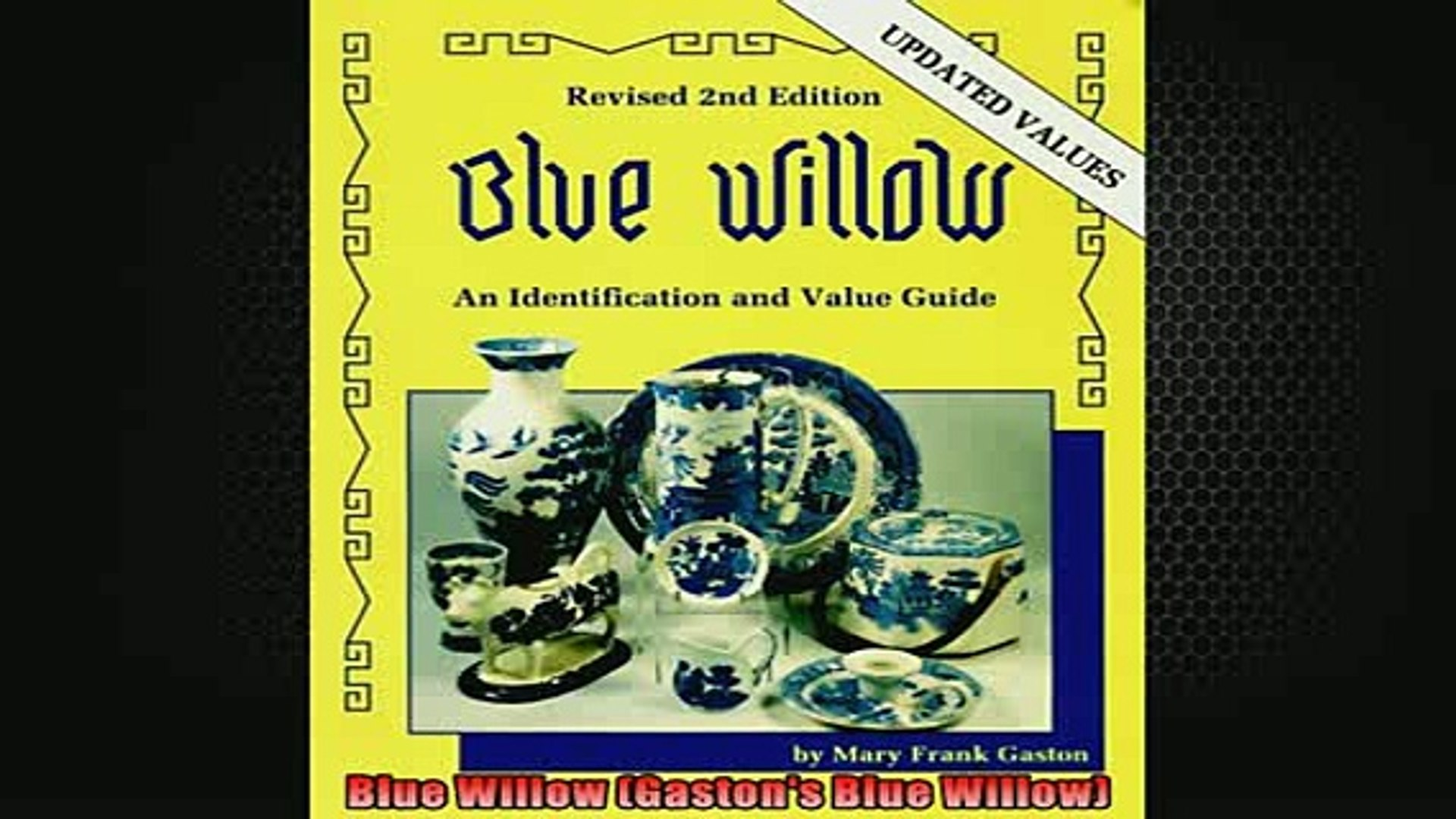 EBOOK ONLINE  Blue Willow Gastons Blue Willow READ ONLINE