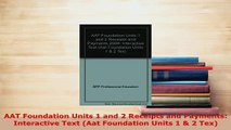 PDF  AAT Foundation Units 1 and 2 Receipts and Payments Interactive Text Aat Foundation Units Free Books