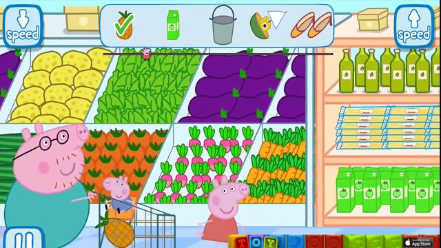 Peppa Pig Shopping App Gameplay! (Peppa Pig at the Supermarket)