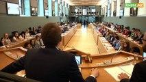 L'Avenir - Des étudiants visitent le parlement de Wallonie