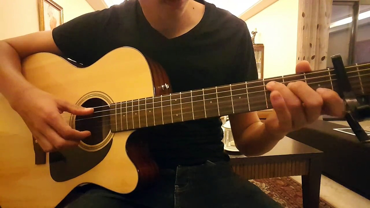 TABS- spirits (the strumbellas) fingerstyle guitar cover