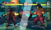 Ultra Street Fighter IV battle: Evil Ryu vs Hugo