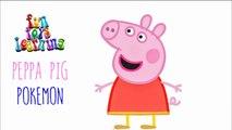 PEPPA PIG POKEMON Hide Seek Game Episodes Peppa Pig Family Pokemon Ash Pikachu Misty Charmender vide
