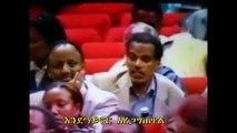 Pre 1997 Ethiopia University Teacher confronting PM Meles Zenawi