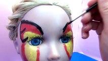 Maquillage papillon | Carnaval 2015 | Anniversaire | Butterfly Face Paint Tutorial | franç