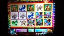 HOT HOT PENNY GEM HUNTER Slot Machine with BONUS RETRIGGERED Las Vegas Casino