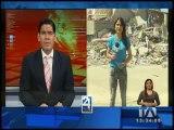 Panorama desolador en Esmeraldas tras el terremoto