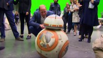 May the (royal) force be with you: Princes William and Harry visit Star Wars set