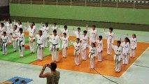 Exame de Faixa taekwondo Brusque - SC