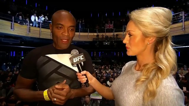 Anderson Silva on Michael Bisping The new Andersons come UFC Fight Night London