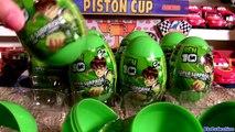 Ben10 Surprise Eggs Kinder Surprise From Cartoon Network by Blutoys Play-Doh Sorpresa Huevos