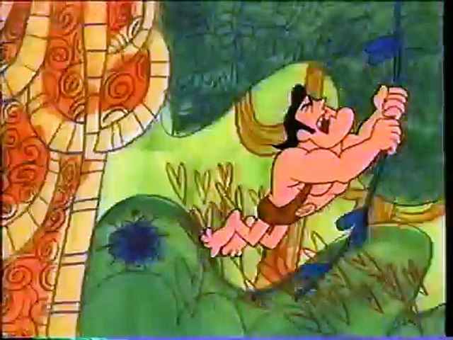 George of the Jungle - Intro (1967) Theme (VHS Capture)