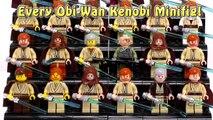 Every Lego Obi-Wan Kenobi Ever!!! + Rare Light-Up Lightsaber Obi-Wan | Lego Collection