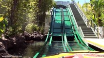 POV Jurassic Park : The Ride JP River Adventure Universal Studios Hollywood Complete POV Experience