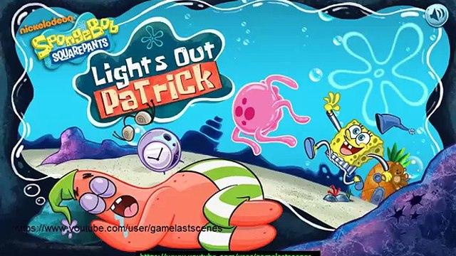 SpongeBob SquarePants Lights Out Patrick | SpongeBob Gameplay 2014 | HD Final Boss