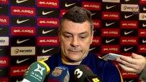 FCB Handbol: Declaracions Xavi Pascual prèvia FC Barcelona Lassa - Rhein-Neckar Lowen